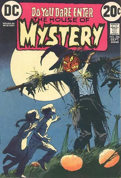 Cover for House of Mystery (DC, 1951 series) #206