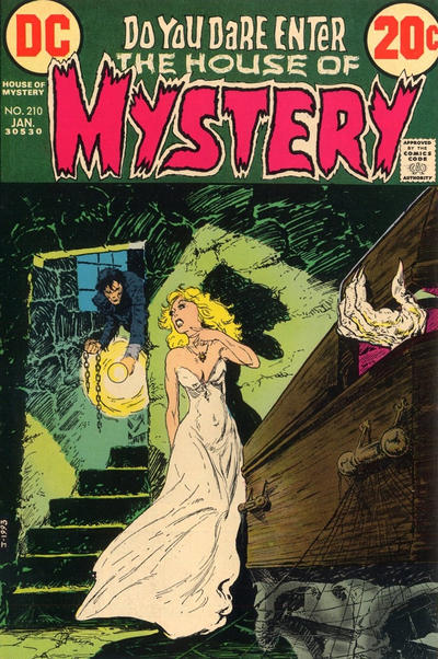 Cover for House of Mystery (1951 series) #210