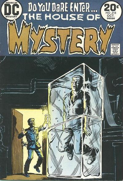Cover for House of Mystery (DC, 1951 series) #218