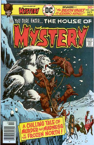 Cover for House of Mystery (DC, 1951 series) #246