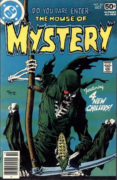 Cover for House of Mystery (1951 series) #261