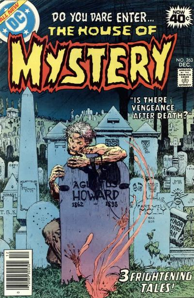 Cover for House of Mystery (DC, 1951 series) #263