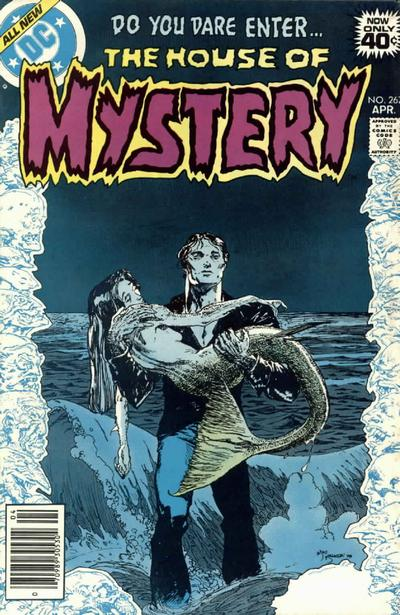 Cover for House of Mystery (1951 series) #267