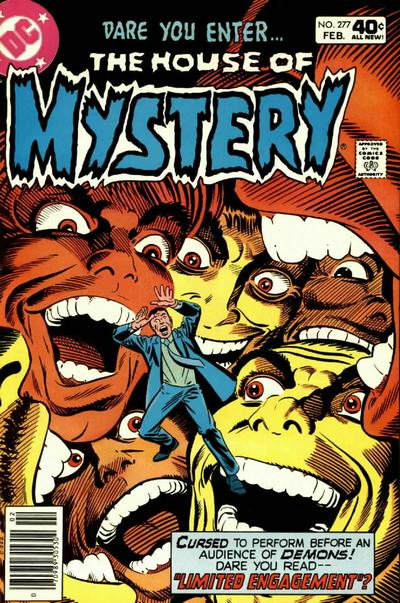Cover for House of Mystery (1951 series) #277