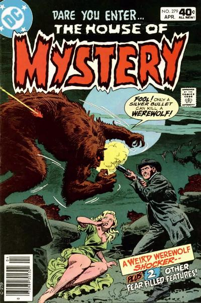 Cover for House of Mystery (1951 series) #279