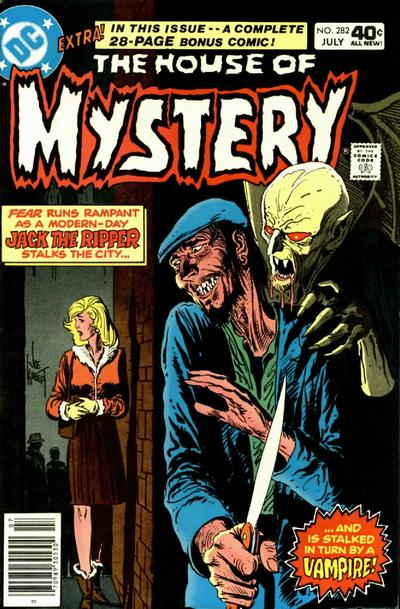Cover for House of Mystery (1951 series) #282