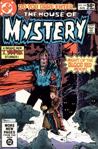 Cover for House of Mystery (DC, 1951 series) #295 [Direct]