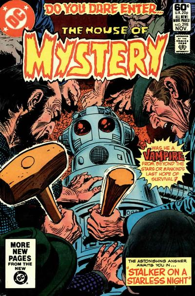 Cover for House of Mystery (DC, 1951 series) #298