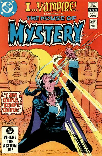 Cover for House of Mystery (DC, 1951 series) #305 [Direct]