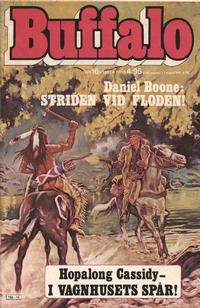 Cover Thumbnail for Buffalo Bill / Buffalo [delas] (Semic, 1965 series) #16/1981