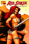 Cover Thumbnail for Red Sonja (2005 series) #2 [Limited Billy Tan Cover (1 in 25)]