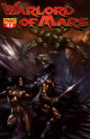 Cover for Warlord of Mars (Dynamite Entertainment, 2010 series) #3 [Cover D - Lucio Parrillo]