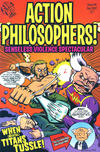 Cover for Action Philosophers (Evil Twin Comics, 2005 series) #8 - Senseless Violence Spectacular