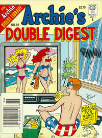 Cover Thumbnail for Archie's Double Digest Magazine (Archie, 1984 series) #89 [U.S. Newsstand]