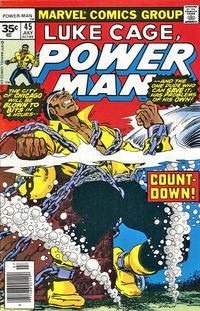 Cover for Power Man (1974 series) #45 [35¢ edition]