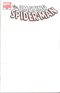 Cover Thumbnail for The Amazing Spider-Man (Marvel, 1999 series) #648 [Blank Variant Cover]