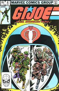 Cover Thumbnail for G.I. Joe, A Real American Hero (Marvel, 1982 series) #6 [Direct Edition]