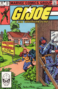Cover Thumbnail for G.I. Joe, A Real American Hero (Marvel, 1982 series) #10 [Direct Edition]