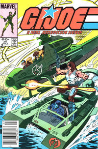 Cover Thumbnail for G.I. Joe, A Real American Hero (Marvel, 1982 series) #25 [Newsstand Edition]