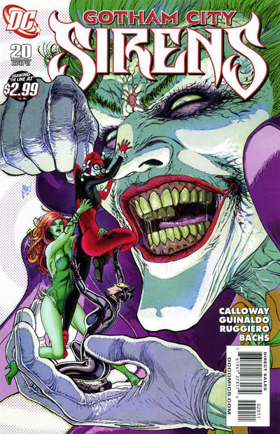 Cover for Gotham City Sirens (DC, 2009 series) #20