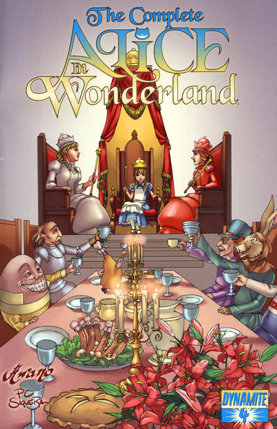 Cover for The Complete Alice in Wonderland (2009 series) #4