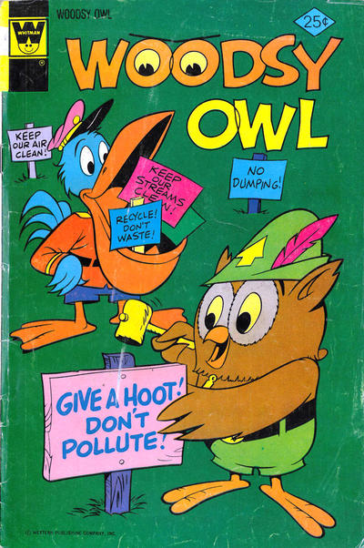 Cover for Woodsy Owl (Western, 1973 series) #5 [Whitman Variant]