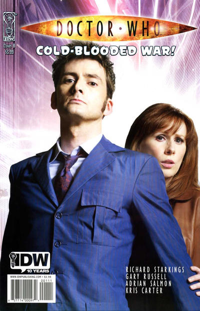Cover for Doctor Who: Cold-Blooded War (2009 series) #[nn] [Cover A]