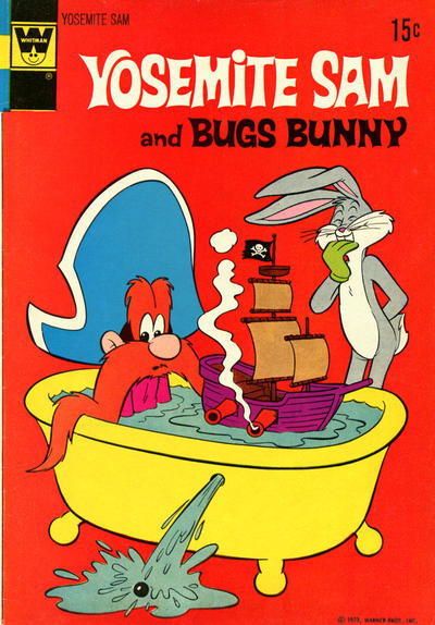 Cover for Yosemite Sam (Western, 1970 series) #7 [Gold Key Variant]