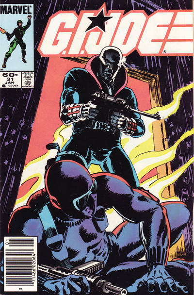 Cover for G.I. Joe, A Real American Hero (1982 series) #31 [Newsstand Edition]