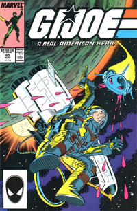Cover for G.I. Joe, A Real American Hero (Marvel, 1982 series) #65 [Newsstand Edition]