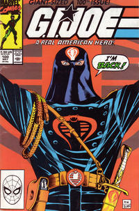 Cover Thumbnail for G.I. Joe, A Real American Hero (Marvel, 1982 series) #100 [Direct Edition]