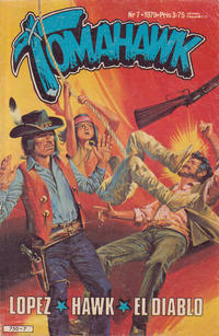 Cover Thumbnail for Tomahawk (Semic, 1976 series) #7/1979