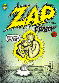 Cover Thumbnail for Zap Comix (Apex Novelties, 1967 series) #0 [13th print 4.95 USD]