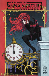 Cover for Anna Mercury (2008 series) #2 [Auxiliary Cover Paul Duffield]
