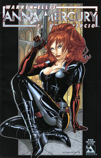 Cover Thumbnail for Anna Mercury (Avatar Press, 2008 series) #4 [Auxiliary Cover Richard Ortiz]