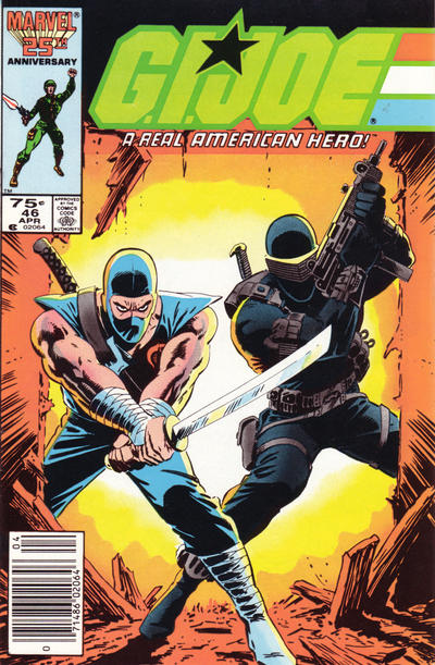 Cover for G.I. Joe, A Real American Hero (Marvel, 1982 series) #46 [Direct Edition]