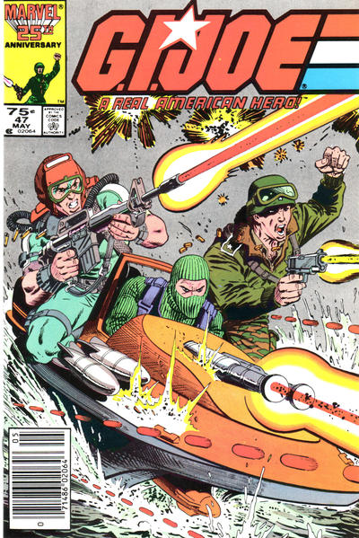 Cover for G.I. Joe, A Real American Hero (Marvel, 1982 series) #47 [Direct Edition]