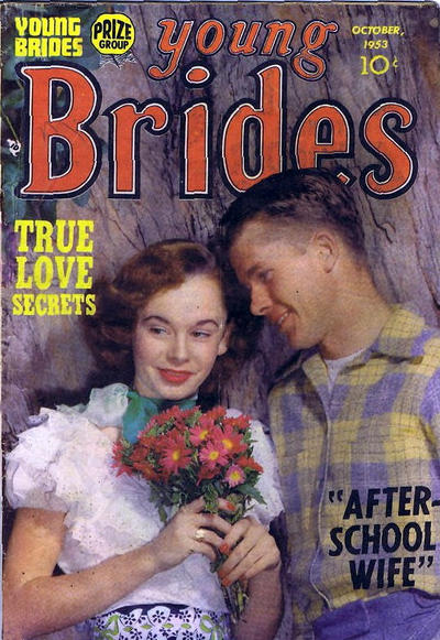 Cover for Young Brides (Prize, 1952 series) #v2#2 [8]