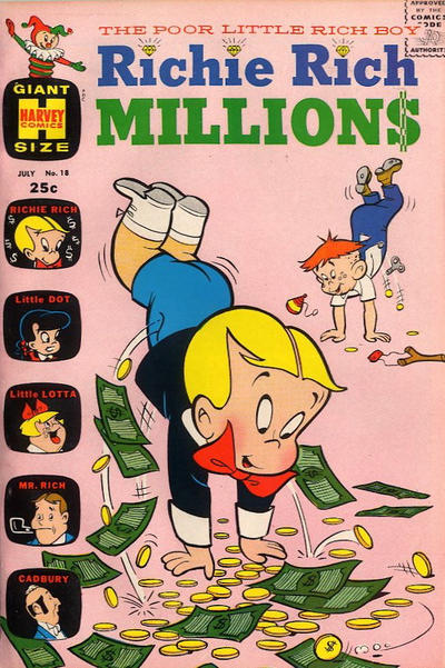 Cover for Richie Rich Millions (Harvey, 1961 series) #18