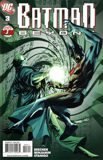 Cover for Batman Beyond (DC, 2011 series) #3