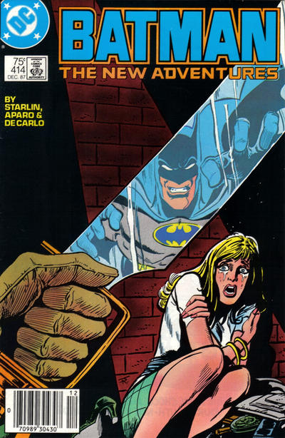 Cover for Batman (1940 series) #414 [Direct]