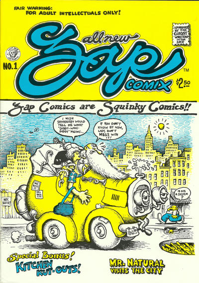 Cover for Zap Comix (1967 series) #1 [UK price variant]