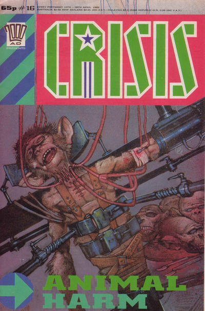 Cover for Crisis (1988 series) #16