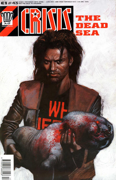 Cover for Crisis (1988 series) #43
