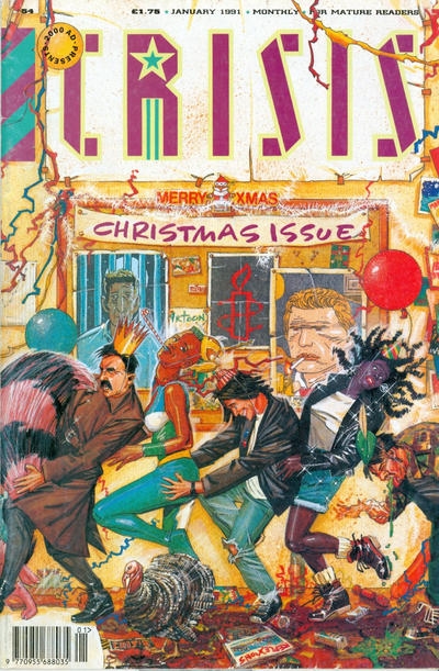 Cover for Crisis (Fleetway Publications, 1988 series) #54