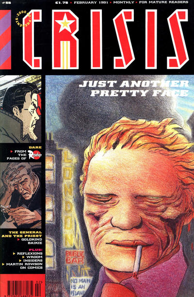 Cover for Crisis (Fleetway Publications, 1988 series) #55