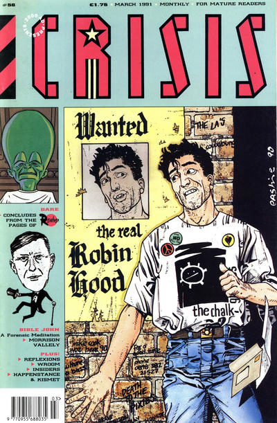 Cover for Crisis (Fleetway Publications, 1988 series) #56
