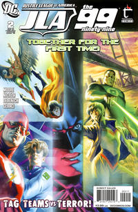 Cover Thumbnail for Justice League of America / The 99 (DC, 2010 series) #2