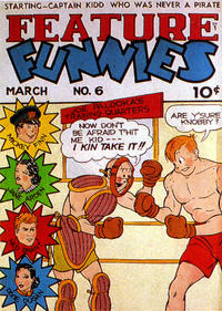 Cover Thumbnail for Feature Funnies (Quality Comics, 1937 series) #6