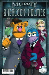 Cover Thumbnail for Muppet Sherlock Holmes (Boom! Studios, 2010 series) #4
